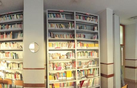 biblioteca istituto Preziosine